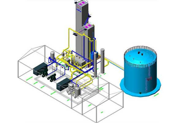 air separation plant Designing ability
